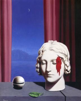 Στη φωτογραφία είναι έργο του ζωγράφου René Magritte (1898 – 1967).
